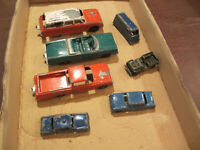 SEVEN VINTAGE 1950s 60s TOOTSIETOY GOODEE TOY DIECAST METAL TRUCK AND CAR TOYS