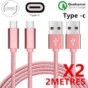 Câble Chargeur Rapide USB Type-C Samsung S8 S9 S10 Note8/9/A5/A6/A7 A20E/A40/A50