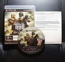 Army Of Two The Devils Cartel (Sony PlayStation 3, 2013) PS3 - FREE POSTAGE