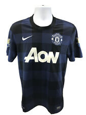 Nike Men's Blue Manchester United Wayne Rooney Short Sleeve Jersey Sz S