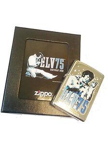 Zippo ® Elvis 75 Years - Birthday 2010 - Limited Edition - Neu/ New OVP LTD
