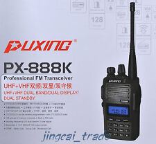 Nouveauté!!! Puxing PX-888K Dual-Band UHF & VHF Dual-Display Dual-Standby Radio