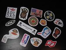 SET 3: LOT de 15 Stickers déco voiture ordinateur guitare moto meubles téléphone