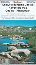 Travel Tour Guide Rooftop Snowy Mountains Central COOMA Khancoban Map Edition 1