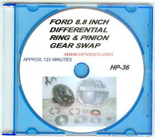 """How to swap your Ford Mustang 8.8"""" Rear Ring & Pinion Gears Video Manual """"DVD"""""""