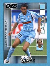 CALCIO CARDS 2005 Panini - Figurina/Sticker -n. 79 - CESAR - LAZIO -New