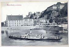 H 399 -Meersburg mit Schiff Habsburg ungelaufen