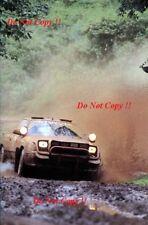 Bjorn Waldegard TOYOTA CELICA GT-FOUR ST165 SAFARI RALLY 1990 fotografia 3