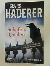 Georg Haderer Schäfers Qualen Kriminalroman dtv Verlag Buch