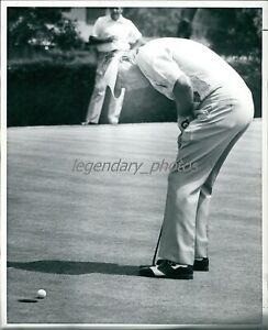 1960s Bruce McCormick Amateur Golf Champion Original News Service Photo