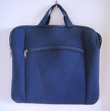 "New Blue Universal Foam Zipper Soft Sleeve Laptop Bag Cover for 14 1/2 x 12 1/4"""