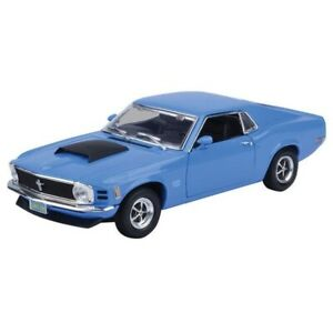 Ford Mustang Boss 429 1970 Blue 1/18 - 73154 MOTORMAX