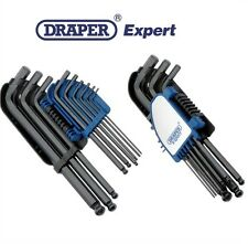 Draper experto HEX ALLEN KEY SET Ball final métrico 9 Piezas Allan Alan Llaves 08380