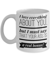 Funny Valentines Day Gifts for Her Wife Girlfriend Anniversary Mug Adult Humor
