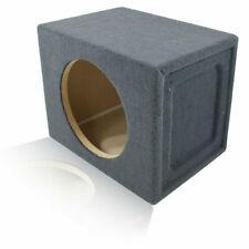 "0.87 ft³ Sealed Mdf Sub Enclosure Speaker Box For Single 10"" Car Audio Subwoofer"