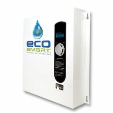 EcoSmart ECO 27 Electric Tankless Water Heater, 27 KW at 240 Volts, (3) 40 Amps