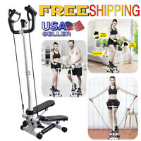 Stair Climber Exercise Machine Stepper Workout Folding Storage Fitness Cardio AA