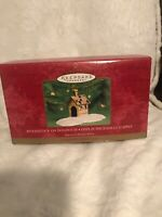 Hallmark Keepsake Ornament Woodstock On Doghouse Snoopy Christmas 2000