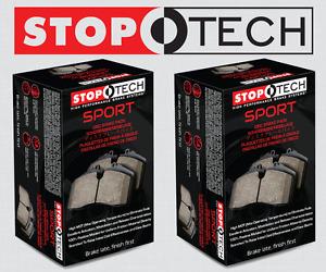 [FRONT + REAR SET] STOPTECH Sport Performance Disc Brake Pads STP37727