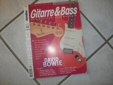 Guitarra & Bass 12 1999 paul mccartney david bowie Danelectro barítono Epiphone
