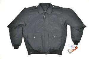 NEW! Blauer #6110 Lightweight B.Dry Bomber Jacket Black Size LARGE LONG/TALL
