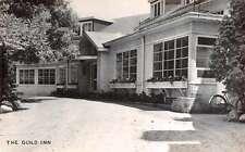 Scarborough Ontario Canada Guild Inn Entrance Real Photo Antique Postcard J57527