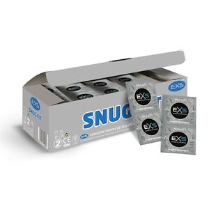 EXS Snug Fit Condoms - For the Smaller Man - Close Fitting  **Free Fast P&P**