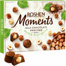 "Sweets Box ROSHEN Milk Chocolate Candy ""Moments"" Pralines Whole Hazelnuts 116g"