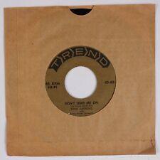 ERNIE ANDREWS: Make Me A Present of You USA Trend Pop Soul 45 VG+