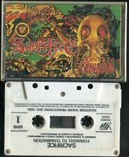 Sacrifice Forward To Termination 1987 Valentine Sound Malaysia Cassette CS381