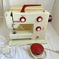 Bernina Nova Model 900 Sewing Machine with Case Vintage Retro Sewing Machine K12