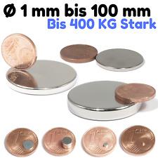Neodym Magnet N52  N45 Scheibenmagnete Runde Magnetscheiben Von 1mm bis 100mm