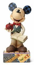 Disney Traditions Class Act Teacher Mickey Mouse Figurine Ornament 15cm 4049634