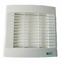Air Vent 435103 30W Kitchen Extractor Fan with Shutters and Pull Cord - White