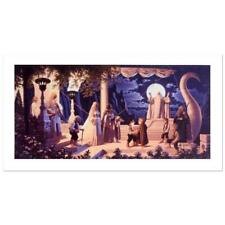 """Greg And Tim Hildebrandt """"At The Grey Havens"""" Limited Edition Giclee On Canvas"""