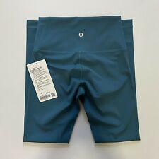 "NWT Lululemon Wunder Under HR Tight 25"" *Full-On Luxtreme - Desert Teal, Size 4"