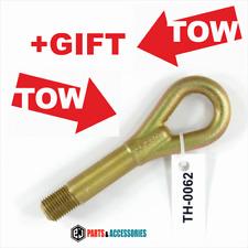 Tow hook ring towing lug eye loop Toyota Auris Avensis Verso Previa Corolla