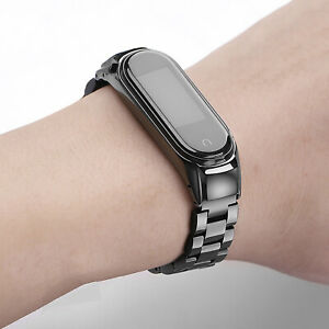 Stainless Steel Band Strap Bracelet For  Mi Band 5 Smart Watches Mi 5