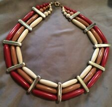 Vintage Collar Necklace WIDE Cleopatra MOD COUTURE 1970's RARE FUNKY