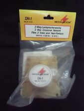 1 pair of crossovers DN-1 (2 packets) made by Monacor (2 way crossover 2500Hz)