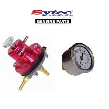 SYTEC MSV CARRERAS REGULADOR DE PRESIÓN DE COMBUSTIBLE REGULABLE 2-6 BARRA ROJO