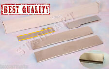 Stainless Steel Door Sill Entry Guard Covers fit Daihatsu Sirion 2008-