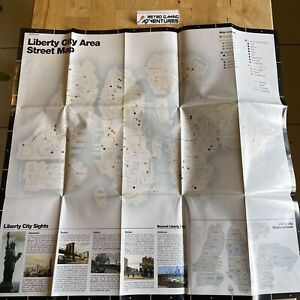 MANUAL ONLY - Large Liberty City Street Map - Grand Theft Auto GTA - 5245975