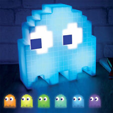 LED Night Light Pacman Ghost Decoration Lamp USB Pac-man Game Theme Colorful
