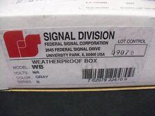 Weatherproof Box Federal Signal WB