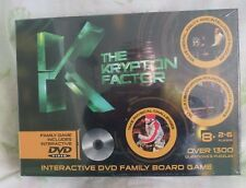 Ideal The Krypton Factor INTERACTIVE DVD FAMILY BOARD GAME BRAND NEW UN-OPENED
