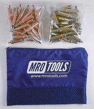 25 1/8 & 25 3/16 Cleco Sheet Metal Fasteners w/ Mesh Carry Bag (K3S50-1)