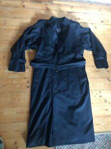 Burberry's of London Vintage Trenchcoat Mantel Damen L ca. 42 Blau auch Herren