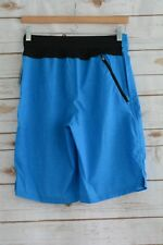 NWT Champion C9 Premium - Blue swim Active Board Shorts Stretch, sz 30