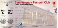 Ticket - Southampton v Brentford 19.02.05 FA Cup